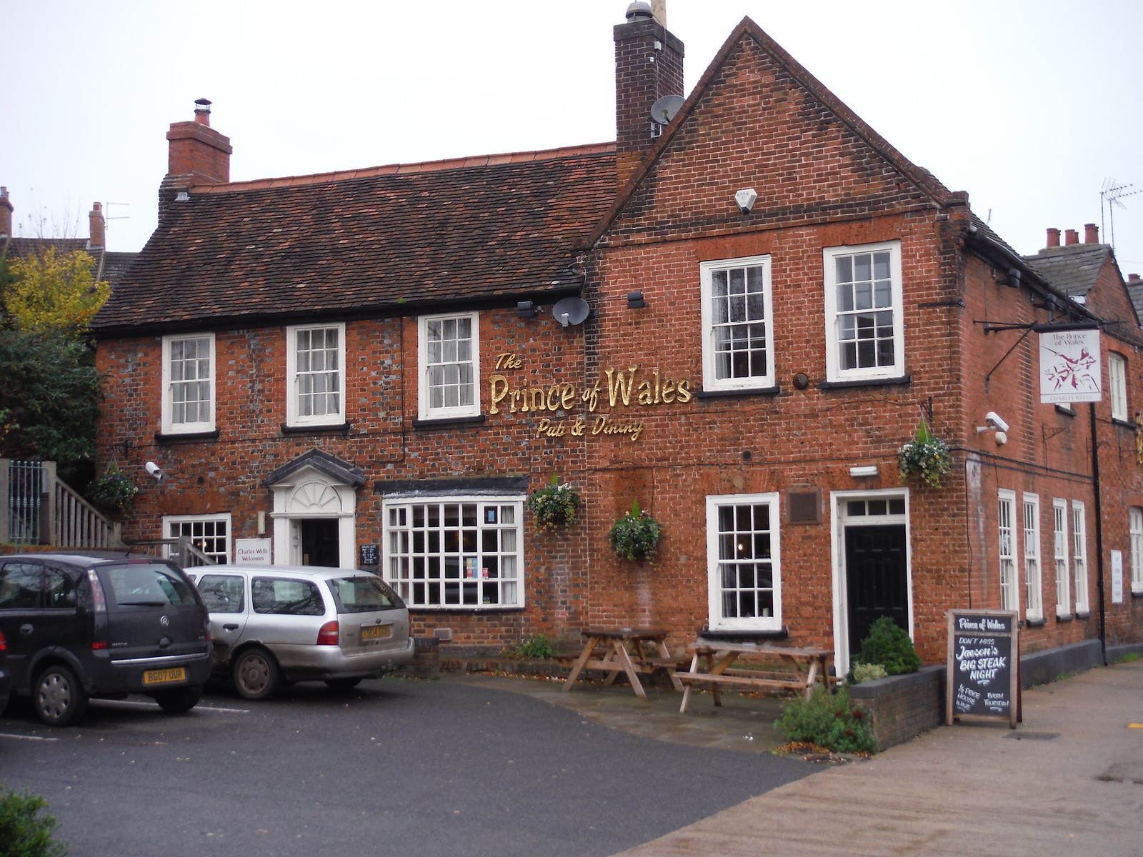 The Prince of Wales, Ampthill SWC Walk 232 Lidlington to Flitwick
