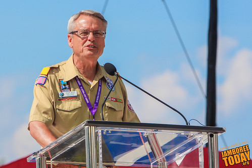 Chief Scout Executive Wayne Brock | by Daniel M. Reck