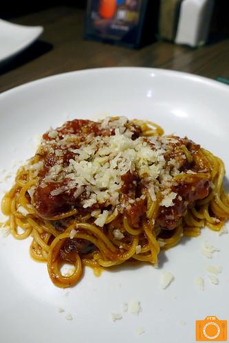 Village Tavern Kids' Spaghetti   by foodreviewsmanila