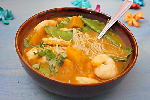 Pumpkin Shrimp Laksa -edit