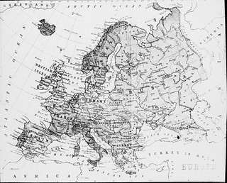 Map of Europe | by National Library of Ireland on The Commons