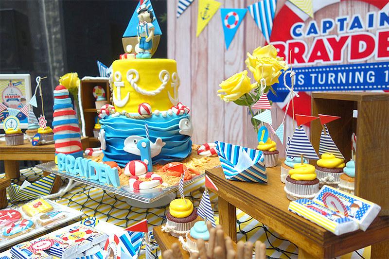 Party Ideas Kids Birthday Boy Nautical Sailor 1