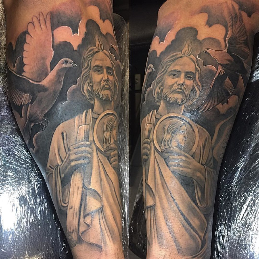 Sleeve i been working on SAINT JUDE #picoftheday #instapic…   Flickr