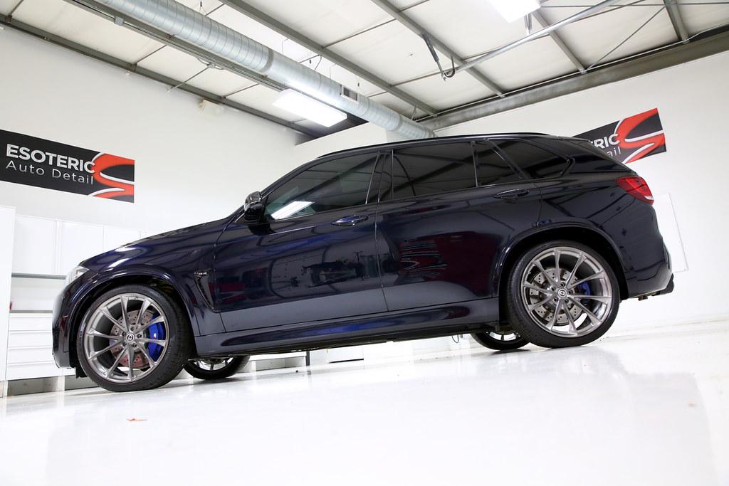BMW F85 X5M Carbon Black 6 | ESOTERIC Edition BMW F85 X5M  7… | Flickr