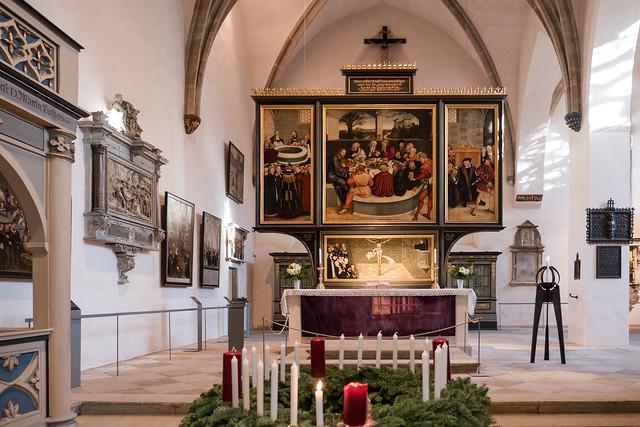 Lutherstadt Wittenberg: Reformationsaltar in der Stadtkirche