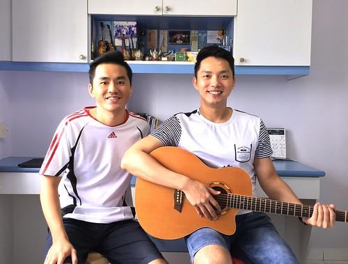 1 to 1 guitar lessons Singapore Benjamin