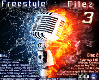 FREESTYLE FILEZ 3 Cover OFFICIAL | by deznado