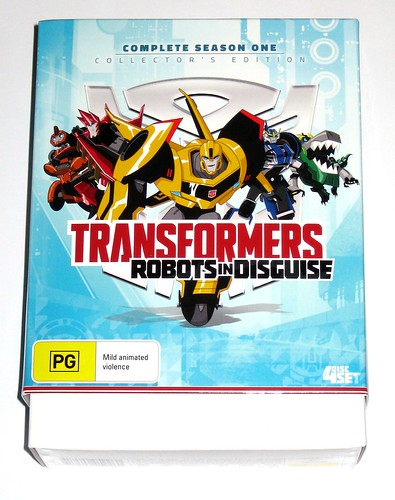 transformers robots in disguise season 1 collectors edition 4 dvd set a | by tjparkside