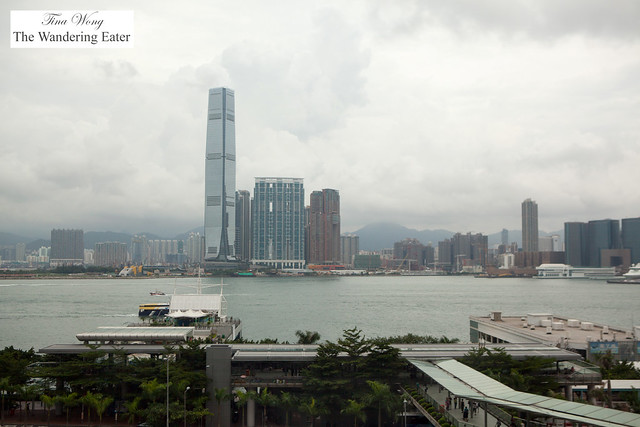 View of the city from Four Seasons Hong Kong