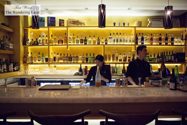 Whiskey and sake bar on 3rd Floor