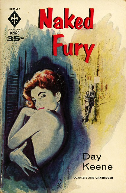 Berkley Books D2020 - Day Keene - Naked Fury