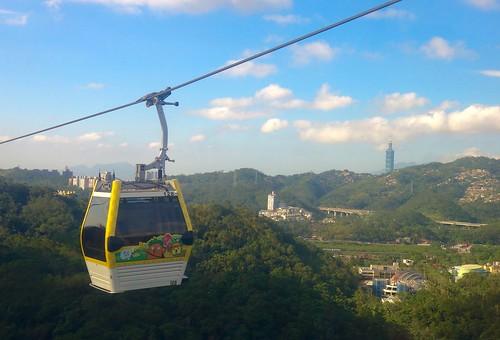 Maokong Gondola, Taipei   by Sonse