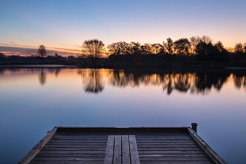 nippersink hdr illinois lakecountyforestpreservedepartment sunrise fall lcfpd nature roundlake unitedstates us