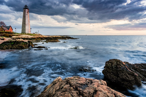 2016 connecticutphotographer goldenhour landscape landscapephotographer lighthousepointpark lighthouse lighthousepoint longislandsound naturephotographer november park photographicart rocks seascape sunset unitedstates beach digital water