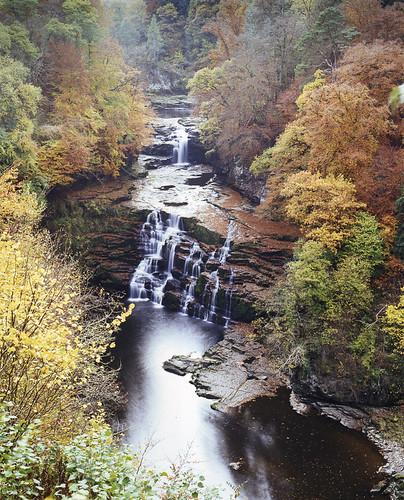 riverclyde autumn scotland