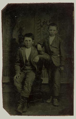 Tintype Two Boys