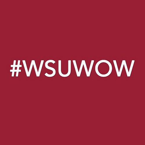 #WSUWOW is the official hashtag for Move-In and @WSUWOW! Use it to see what other Cougs are posting! #GoCougs