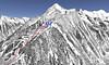 Mapa Mayrhofen - Ahorn (detail)