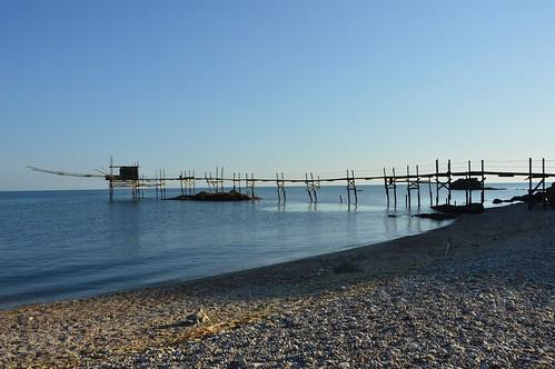 trabocco Punta Aderci Abruzzo | #Abruzzo #puntaderci #sun ...