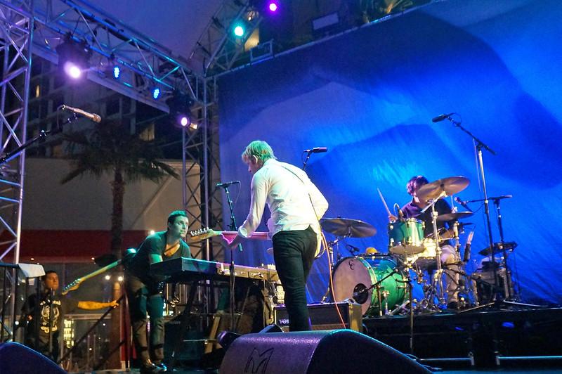 Spoon - Grills & Guitars at Foxtail Pool Club at SLS Las Vegas - September 24, 2015