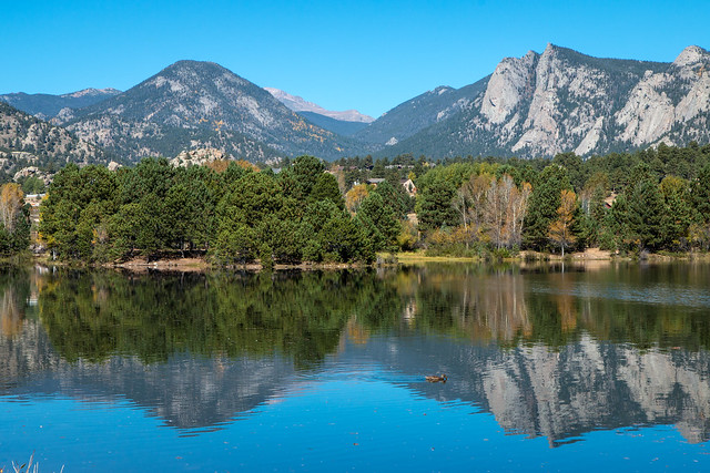 Reflections in Lake Estes