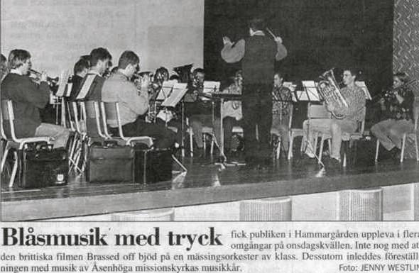 1998 - Brassed off på Hammargården