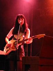 Eleni on guitar
