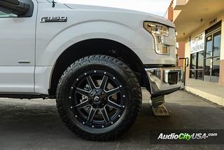 Fuel Wheels 20x9 >> 2015 Ford F 150 On 20x9 Fuel Wheels Maverick D538 Black Mi