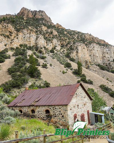mountains buildings exterior unitedstates mining idaho ghosttown bayhorse