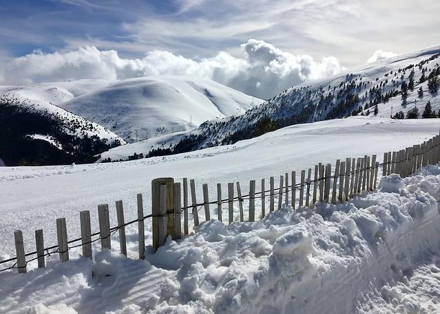 Snowed Landscape. La Masella. Spain.