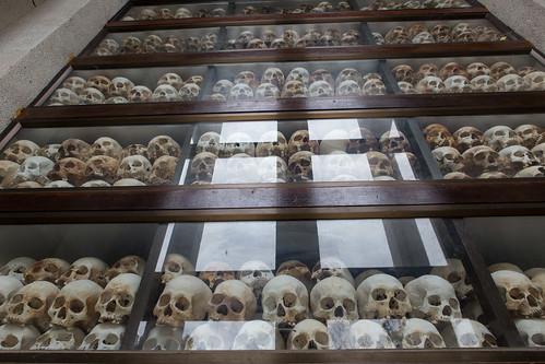 cemetery grave skulls memorial cambodia khmer stupa unesco vietnam phnompenh auschwitz genocide invasion scholarships ngo killingfields occupation khmerrouge tuolsleng choeungek kingsihanouk rambo2100 hengsamrin jcroyal