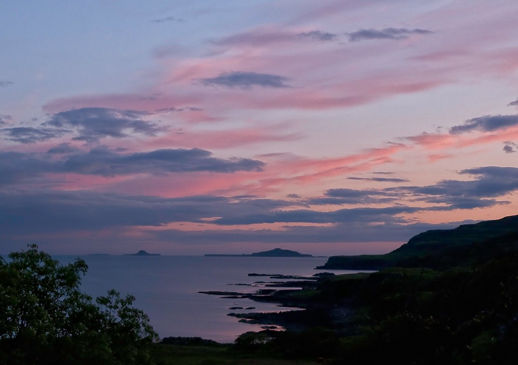 The Treshnish Isles from Torloisk, Isle of Mull