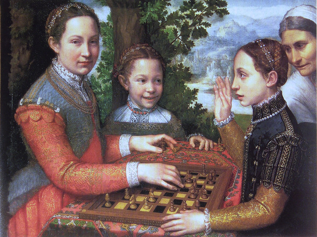Sofonisba Anguissola - A game of chess [1555]