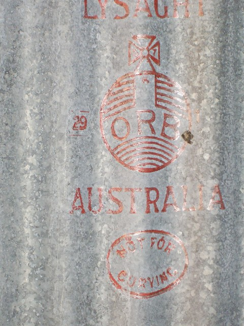Lysaght Australia serif Red Orb 29 Jan 1957 NugNug (Catriona McCallum)