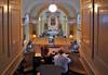 Konzert in der katholischen Kirche am Freitagabend