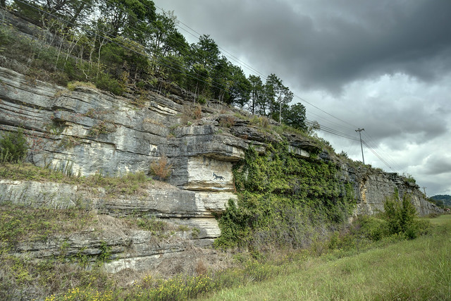 Mule on a Cliff, Dekalb County, Tennesee