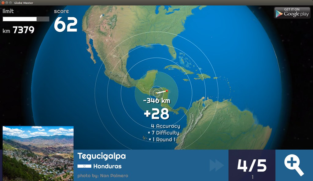 Globe Master 3D - Tegucigalpa