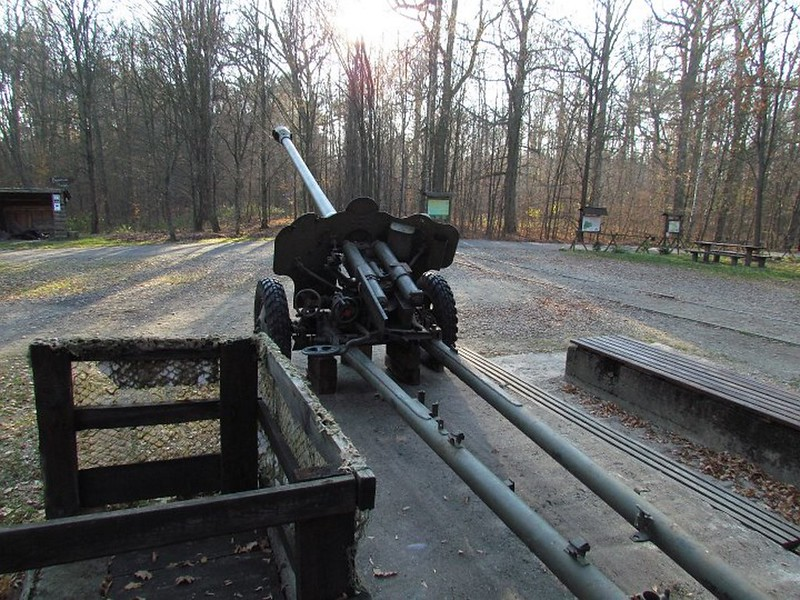 85 mm divisional gun D-44 22