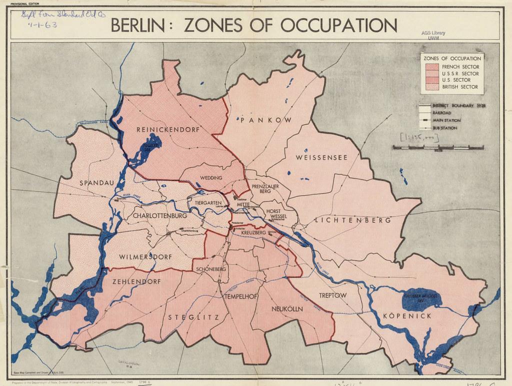 Aufteilung Berlin