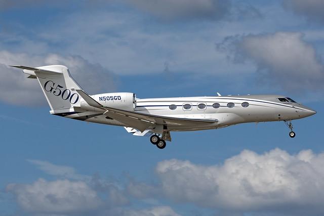 N505GD - Gulfstream G500 - KORL - Oct 2016