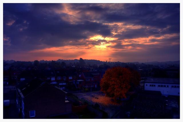 sunset of november