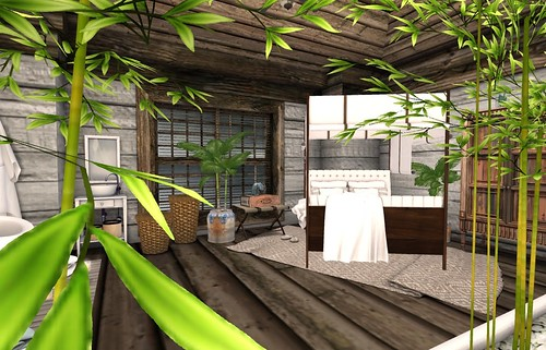 Bali Ha'i Bed   by Hidden Gems in Second Life (Interior Designer)