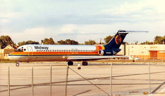 Chicago Midway Airport - Midway Airlines - DC-9-30
