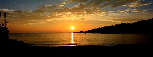 panorama mer soleil lumière couleurs 66 reflets contrejour lever banyuls pyrénéesorientales brillance soleilmatinal fabuleuse