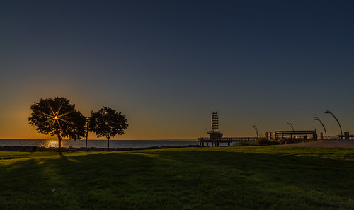 sky sun nature sunrise pier lakeontario hfg canon6d burlingtonpier