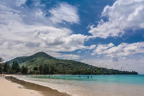 autumn sea tree beach water clouds thailand island sand nikon paradise waves turquoise tropical phuket siam kamala lr6 d7100 sigma1750f28exdcoshsm