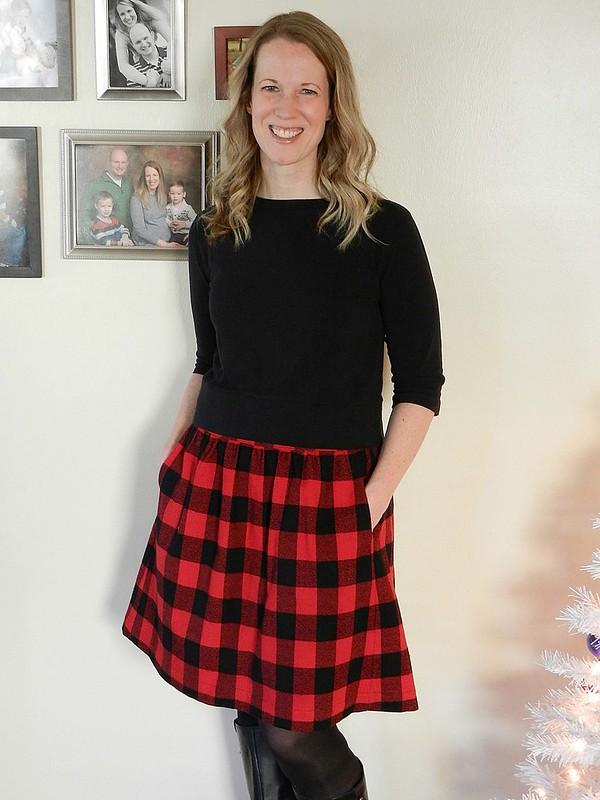 Buffalo Plaid Everyday Skirt 6.1
