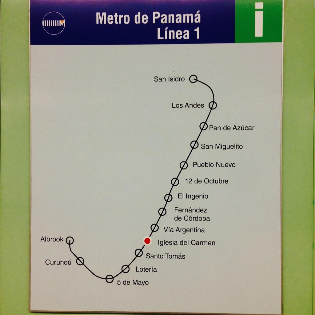 Panama Subway Map.Panama City Subway Map Solewalker Flickr