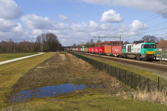 KRE 1272 405   trein 41709   Tilburg   27-02-2015