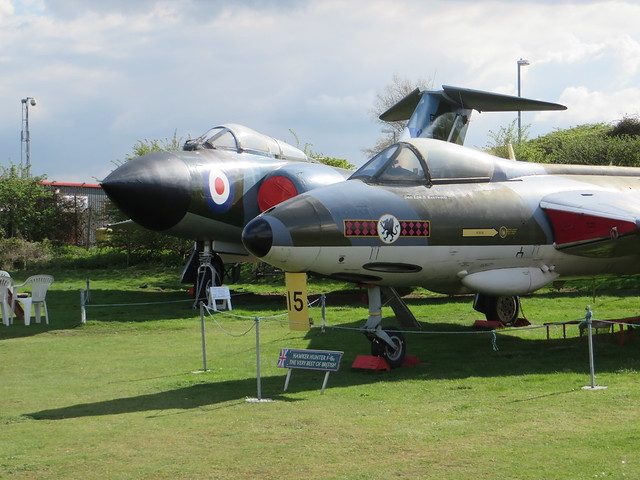 XF382 XA699 Midland Air Museum Coventry 19 April 2015